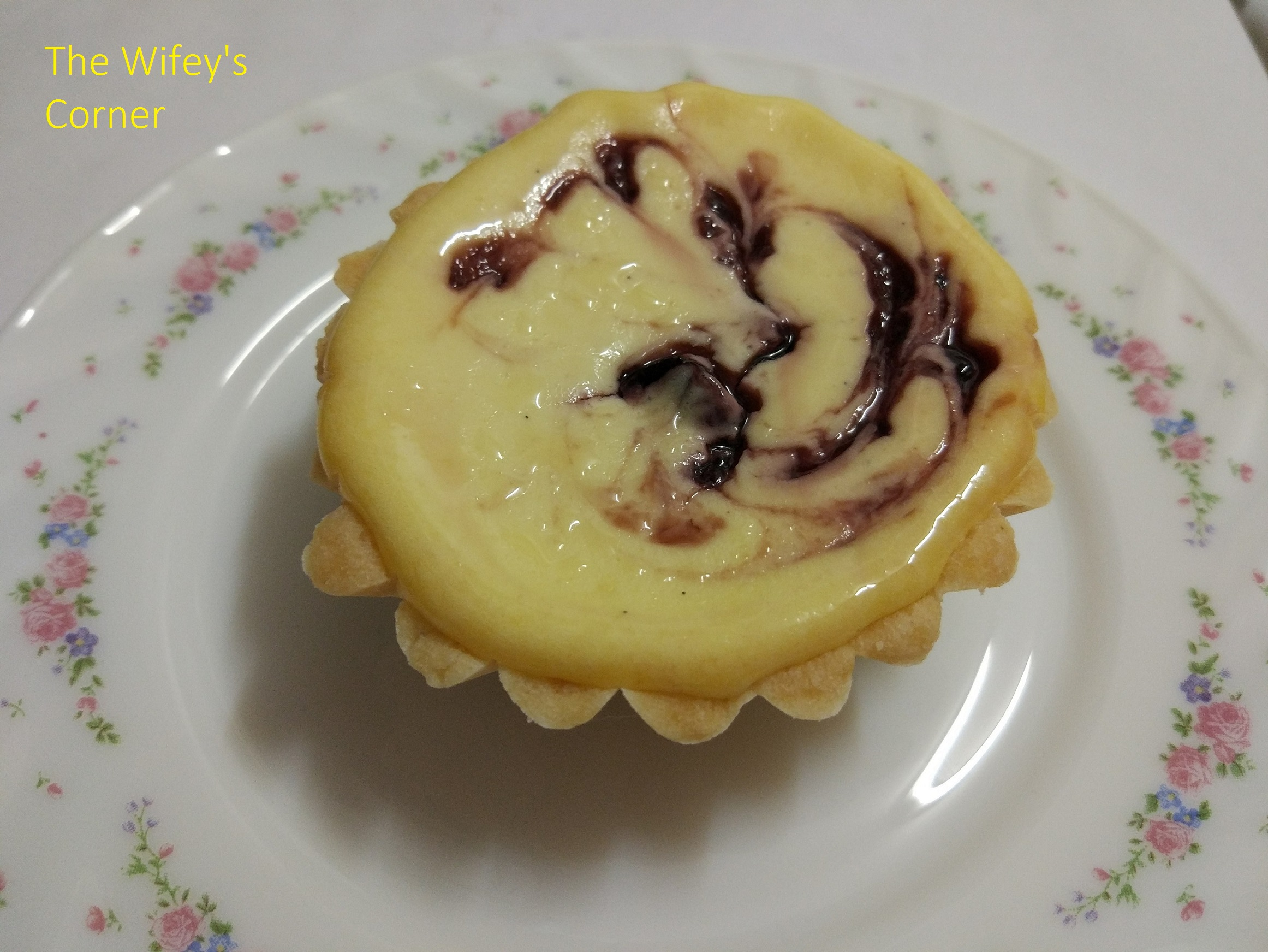 Black Cherry Cheese Tart