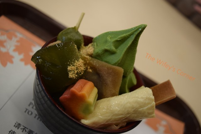 nijo castle matcha ice cream