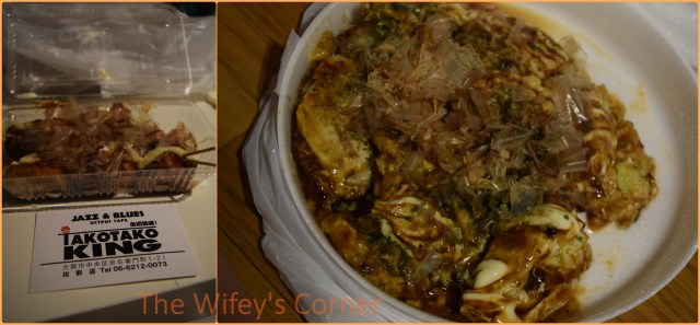Takoyaki and Okonomiyaki from Jazz & BLues Octopus Cafe