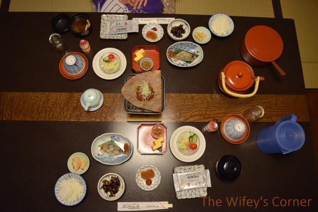 ryokan tanabe breakfast