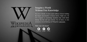 As seen on many, many, many news stories about Wikipedia.