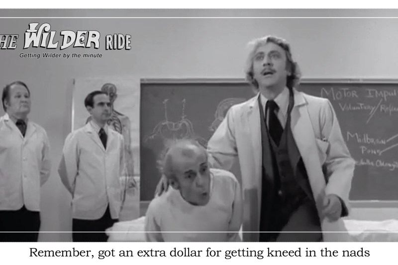 Young Frankenstein Episode 9: Reverend Johnson gets kneed in the nads