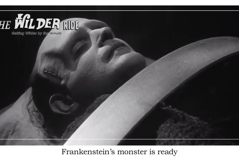 Young Frankenstein Episode 42: You can copy anything except the monster's head