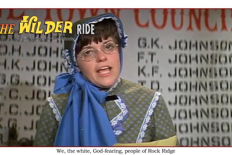 Blazing Saddles Episode 32: We, the white, God-fearing citizens of Rock Ridge