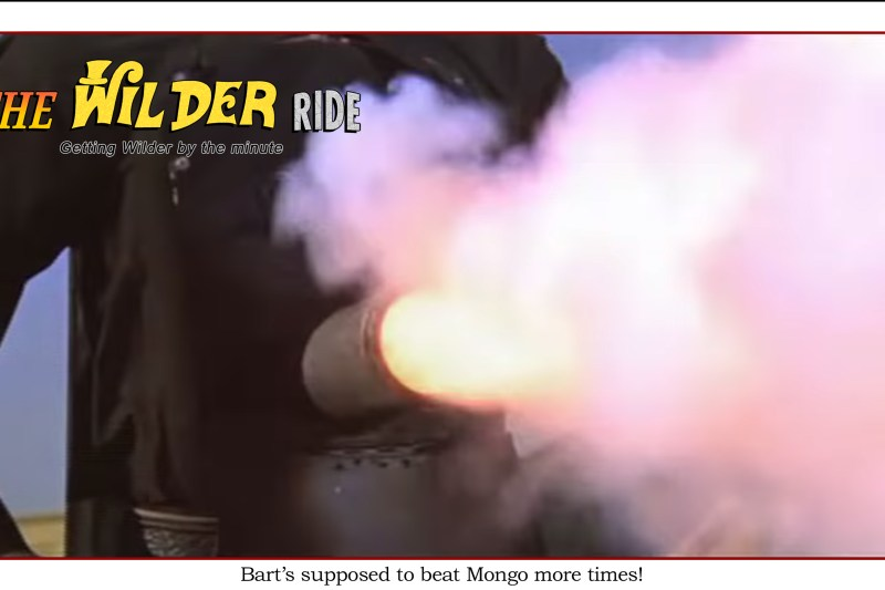 Blazing Saddles Episode 49: Bart's supposed to beat Mongo more times