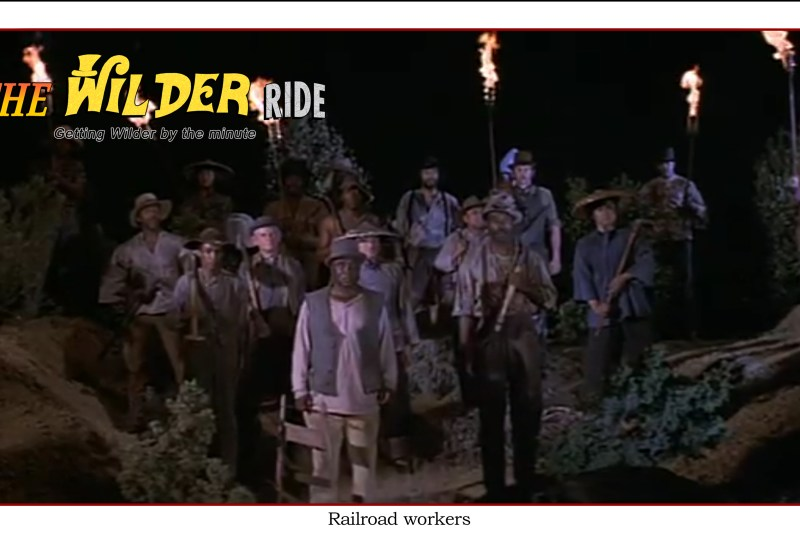 Blazing Saddles episode 76: Railroad workers
