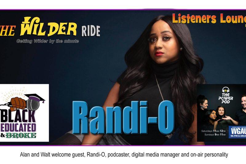 TWR Listeners Lounge – Randi-O
