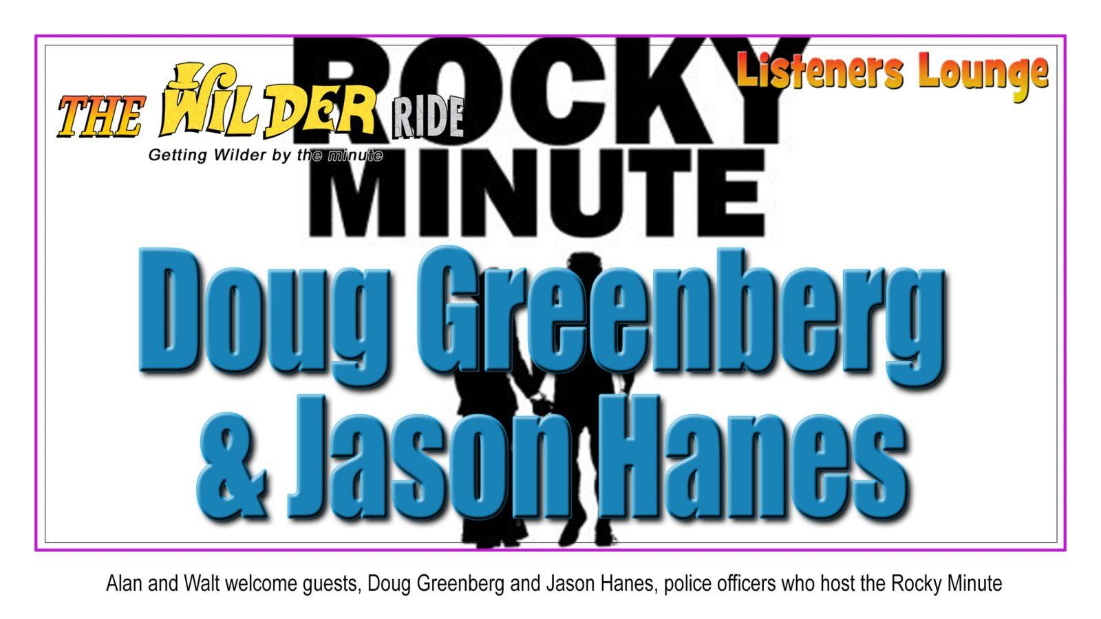 Doug Greenberg Jason Hanes