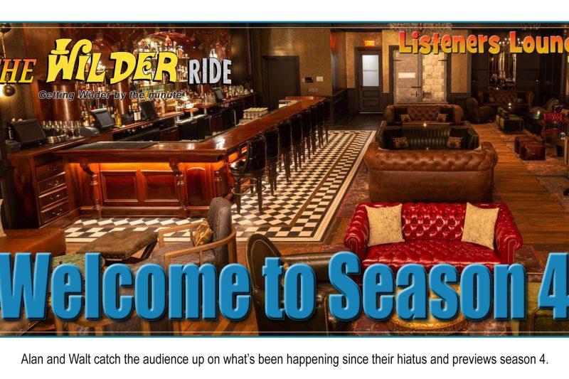 TWR Listeners Lounge – Welcome to Season Four