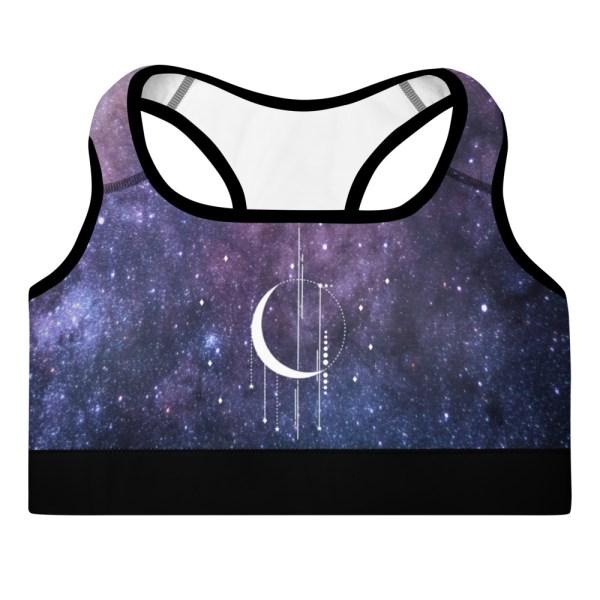 Starry Witchy Yoga Bra