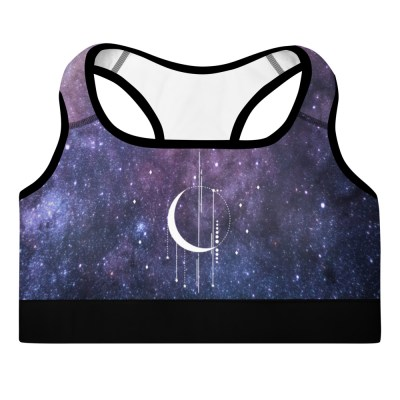 Starry Witchy Yoga Bra