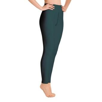 Dark Green Yoga Leggings