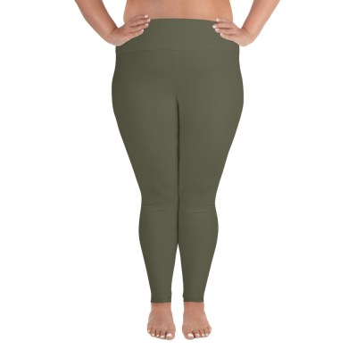 Khaki Plus Size Leggings