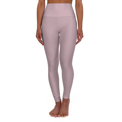 Dusky Pink Yoga Leggings