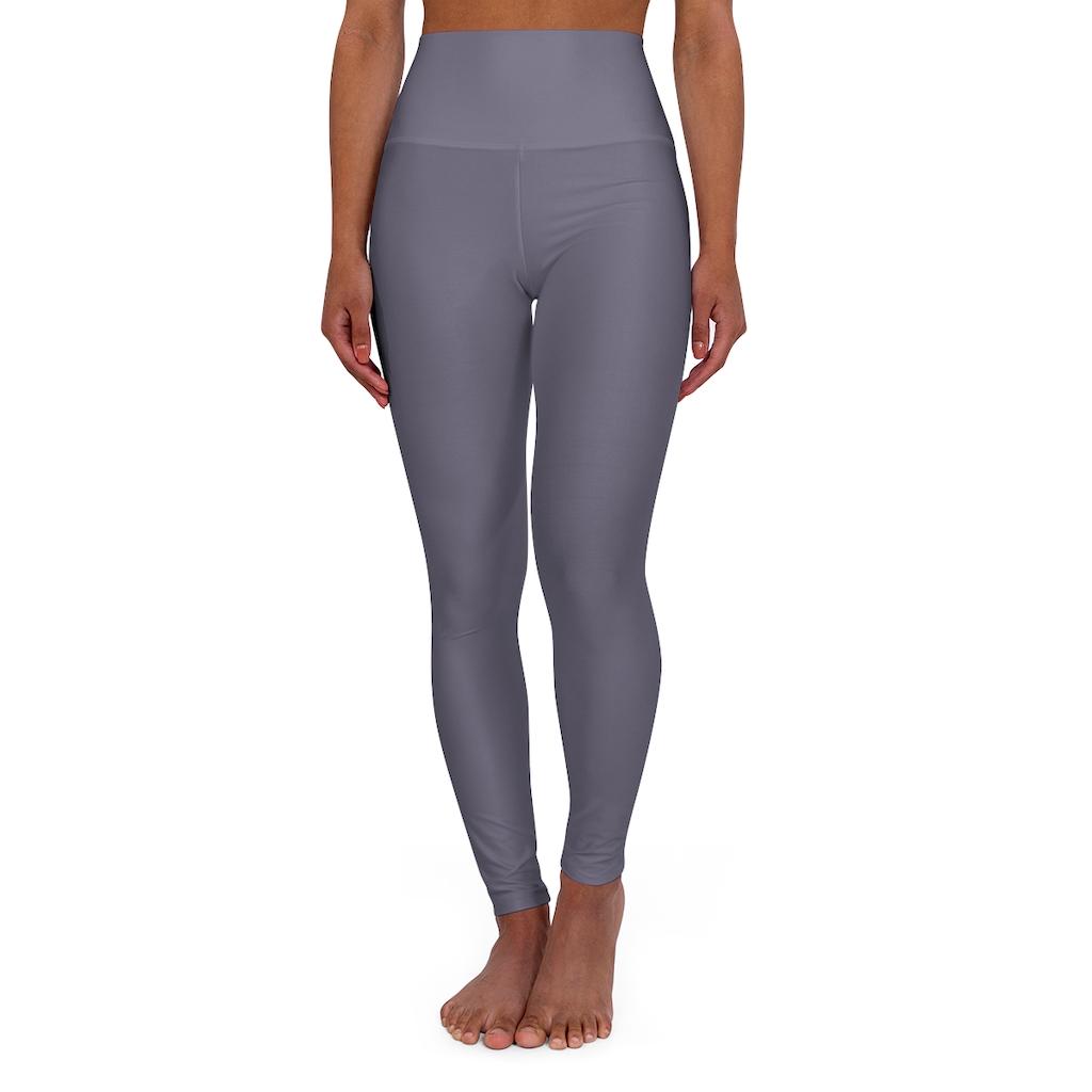 Dark Purple Yoga Leggings
