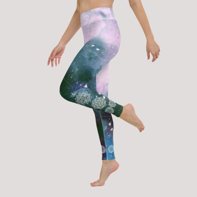 Mandala Ornament Yoga Leggings