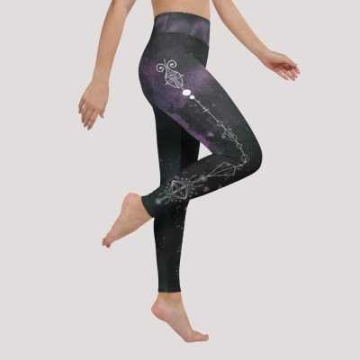 witchy yoga leggings