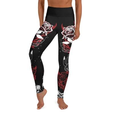 Dark Rosy Leggings