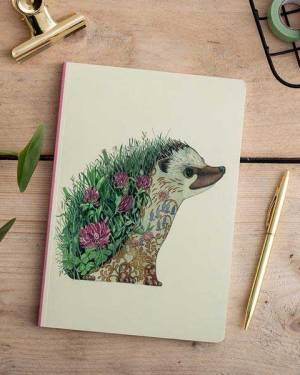 hedgehog notebook from The DM Collection