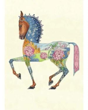 Horse card by Daniel Mackie
