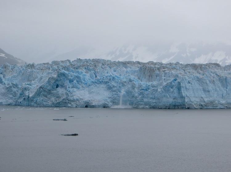 Calving at Hubbard Glacier