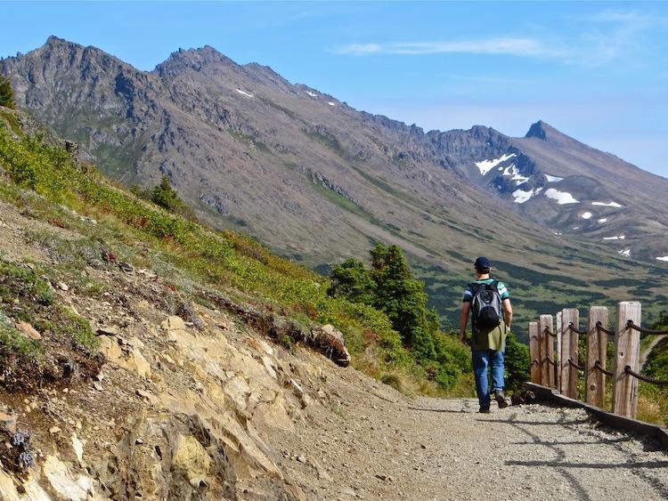 Hiking Flattop Mtn, Anchorage AK