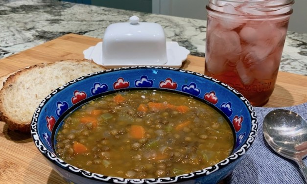 Deeply Flavorful, Comforting Lentil Soup
