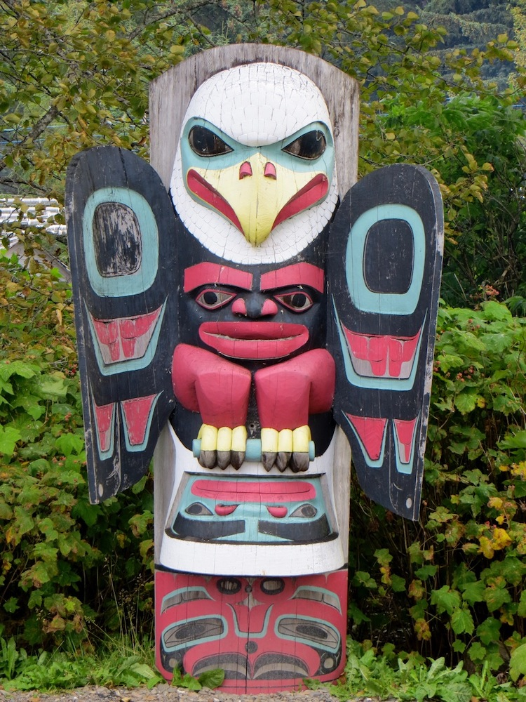 Totem in Icy Strait Point