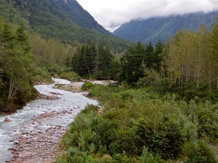 White Pass and Yukon Train View