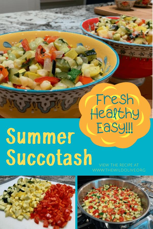 pinnable image for Summer Succotash