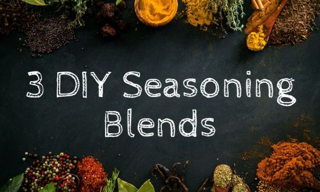 3 DIY Seasoning Blends – Cajun, Old Bay and Season Salt