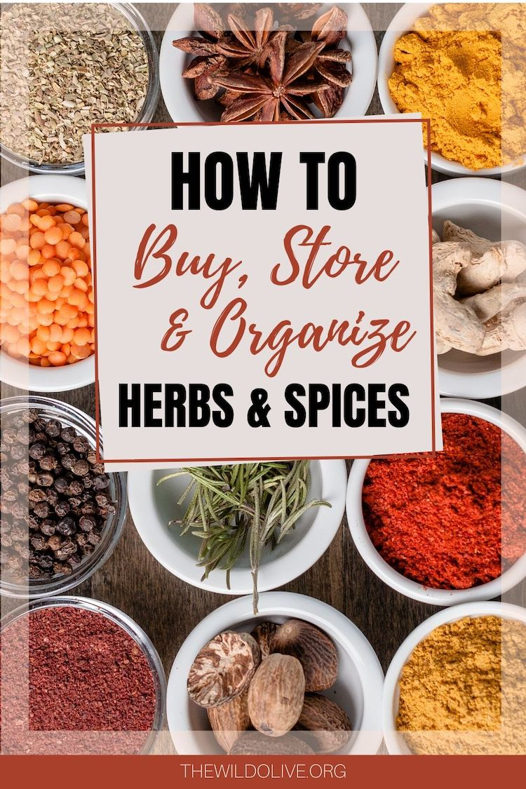 5 Ways to Save Money on Herbs and Spices | Homekeeping Tips | Cooking Tips | Spices | Saving Money