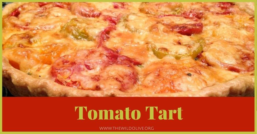 Tomato Tart - part of a Summer Recipe Roundup