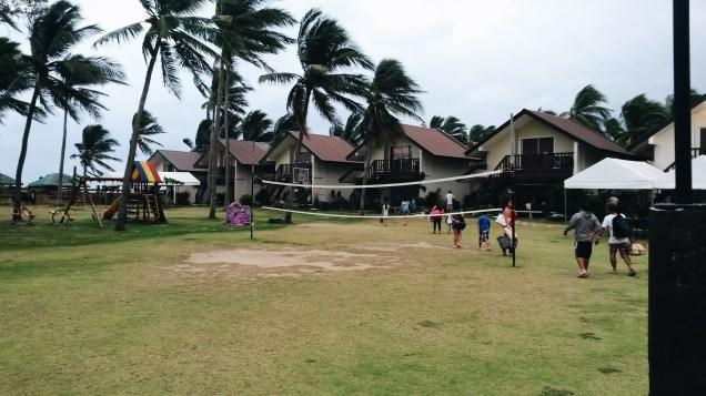Beach volleyball (kinda)