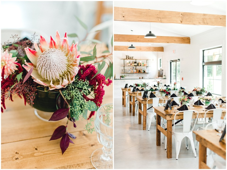 Elegant farmhouse wedding venue ideas that are bold, colorful and unique.