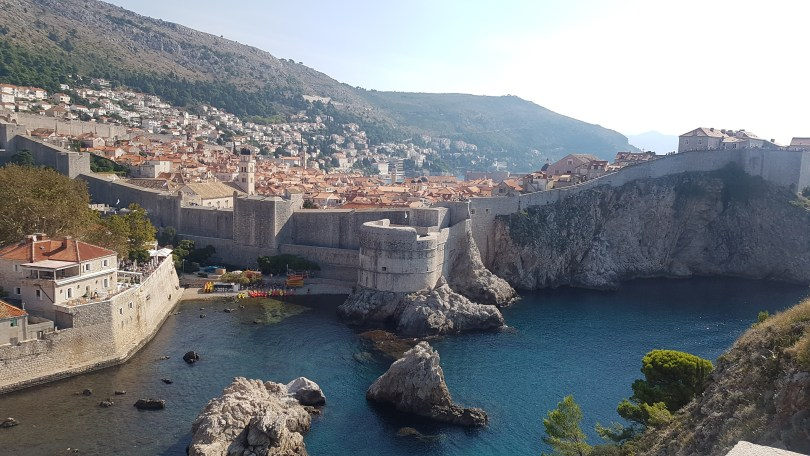 View fo Old Town, Dubrovnik