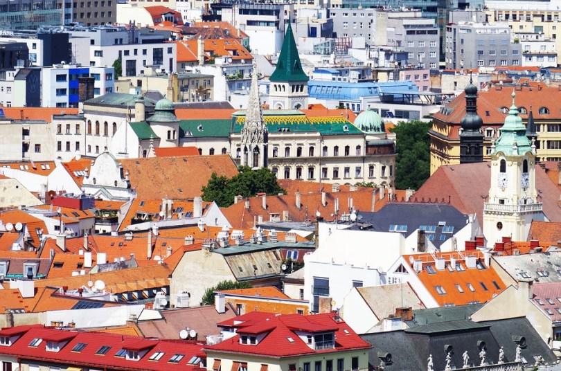 Rooftops in Bratislava