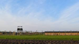 Watchtower in Birkenau