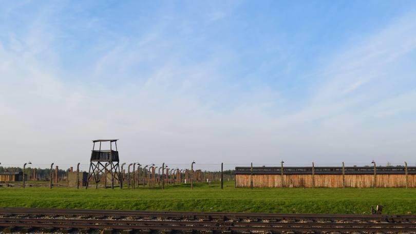 Watchtower in Birkenau