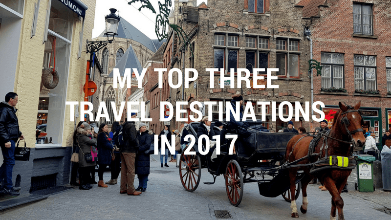 Top Three Travel Destinatons