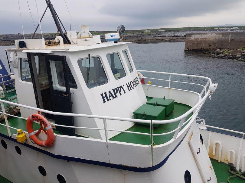 The Happy Hooker Aran Island Boat
