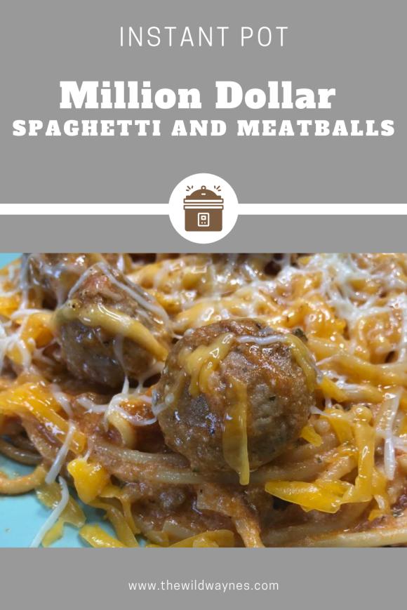Million Dollar Spaghetti for the Instant Pot