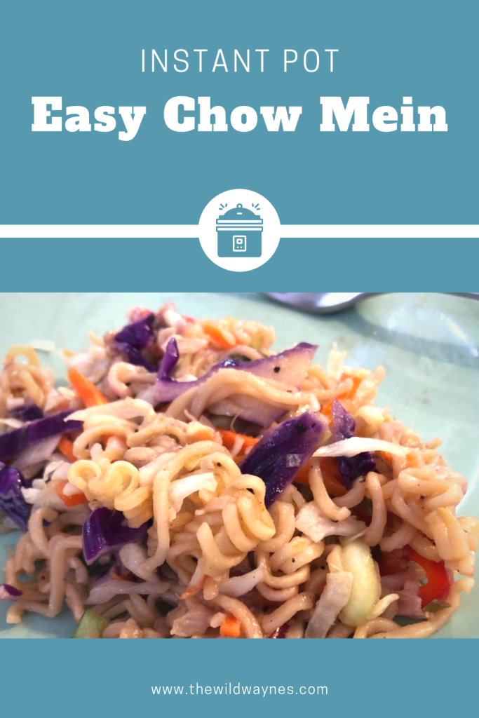 Instant Pot Easy Chow Mein