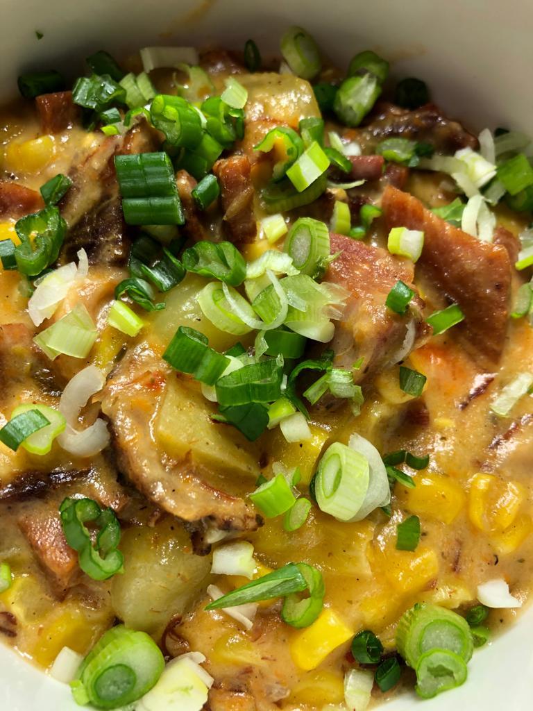 Instant Pot Ham & Corn Chowder
