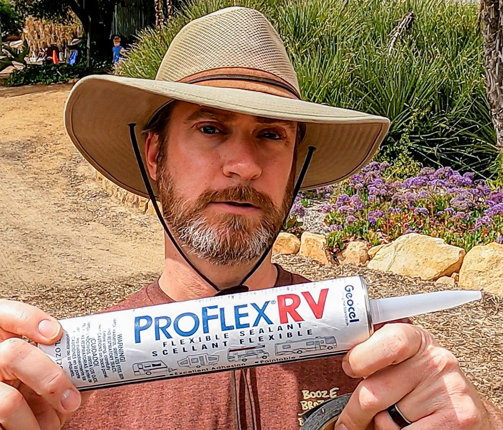 Use ProFlexRV to reseal your RV