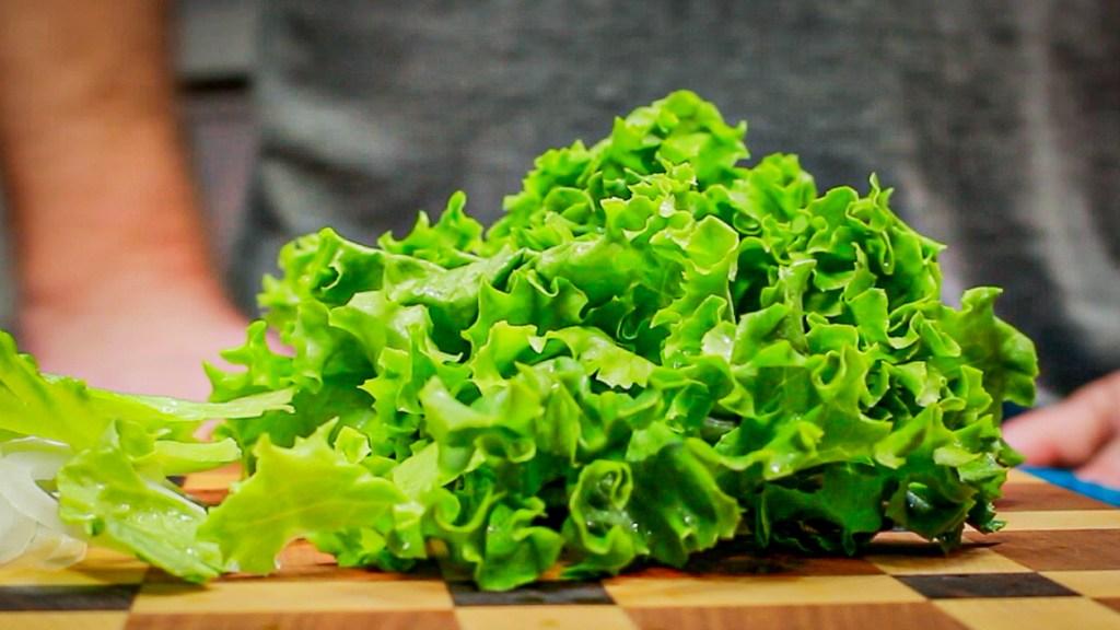 Lettuce for gyros