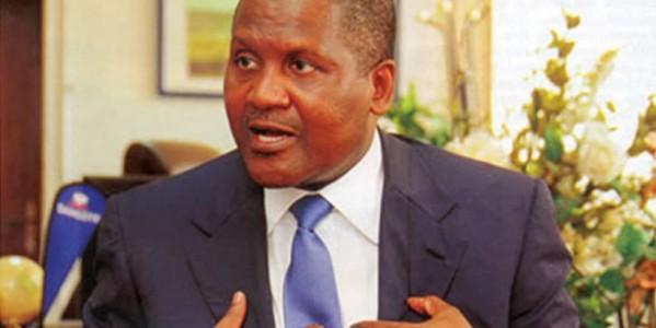 Dangote Calls For Diversification Of Economy