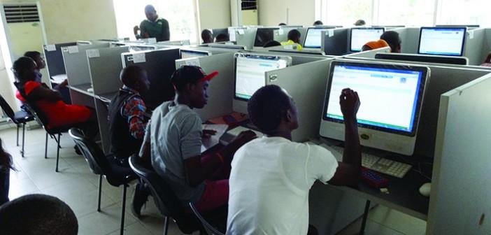 JAMB candidates writing exam