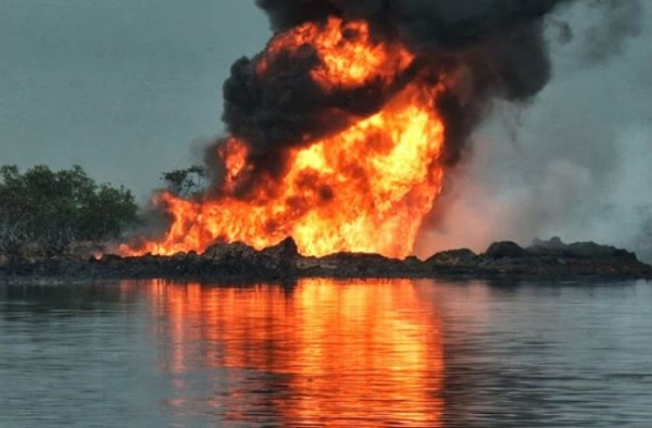 Image result for Blown up Oil pipeline
