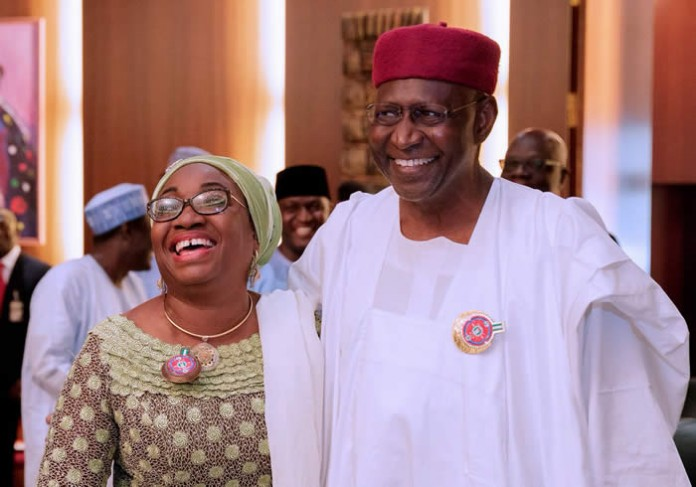 Image result for Maina: Kyari, Oyo-Ita reconcile, embrace publicly